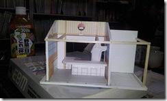 FB屋台村、店舗模型