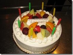 バースデーすうちゃんケーキ