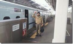 FB新幹線に乗ってきます。