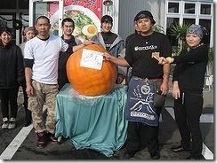 ハロウィンでかかぼちゃ