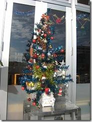 クリスマスツリー外飾