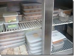 新栄店厨房改造済み 冷蔵庫の中1