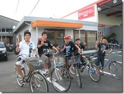 新堂さんちの風くん5人自転車