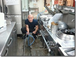 新栄店厨房掃除2