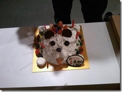 バースデケーキ犬 23-4月
