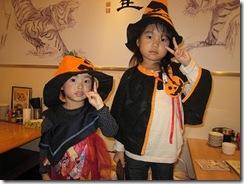 ハロウィン仮装子供