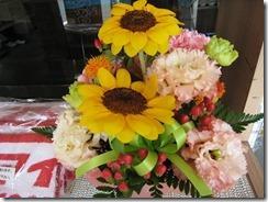 吉永さん父からのの花