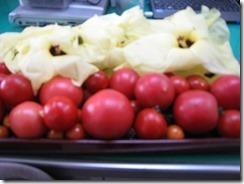 さっちゃん 小倉の花とトマト