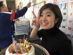 すーちゃんケーキとピース